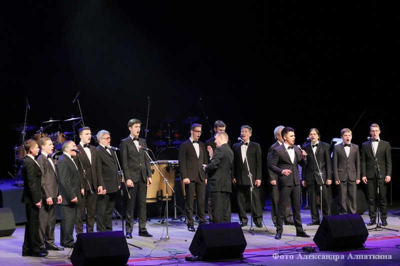 Праздничный концерт, посвященный Дню защитника Отечества.