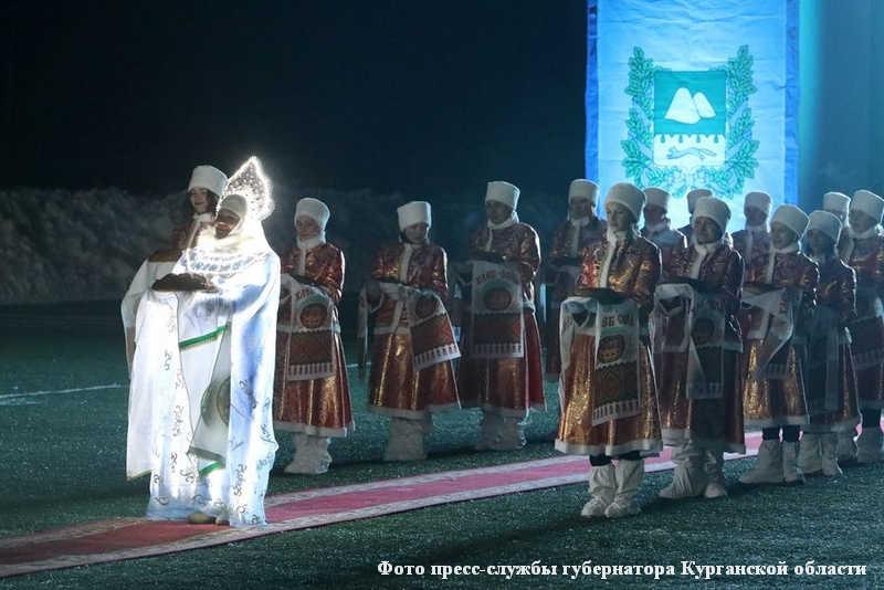В Кетово открылись IХ сельские зимние игры «Зауральская метелица»