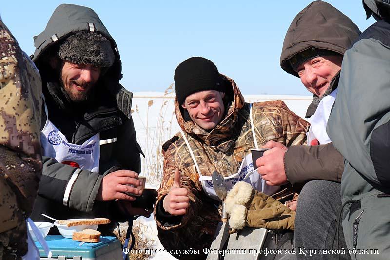 VI Профсоюзный чемпионат Уральского федерального округа по зимней ловле