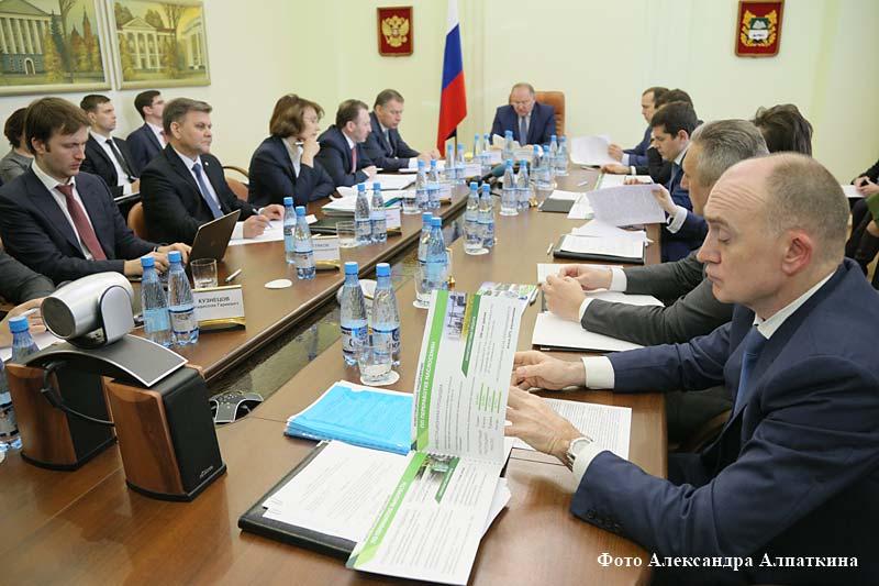 Первый Совет губернаторов УрФО в Курганской области.