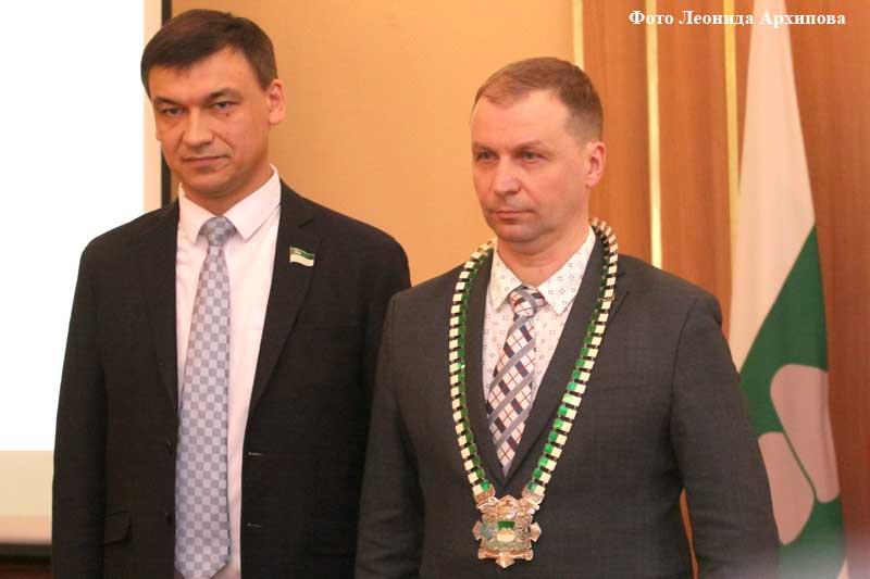 Андрей Потапов принёс присягу Главы города Кургана.