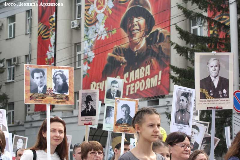 Митинг-парад, посвященный 74-0й годовщине Победы.