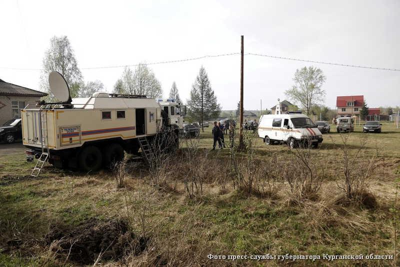 Подготовка к эвакуации в поселке Иковка.