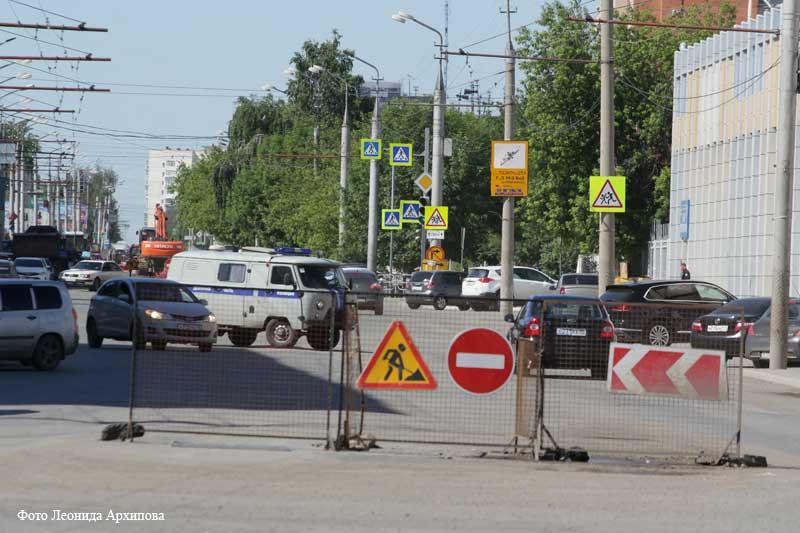 В Кургане реализуется федеральная программа «Безопасные и качественные автомобильные дороги».