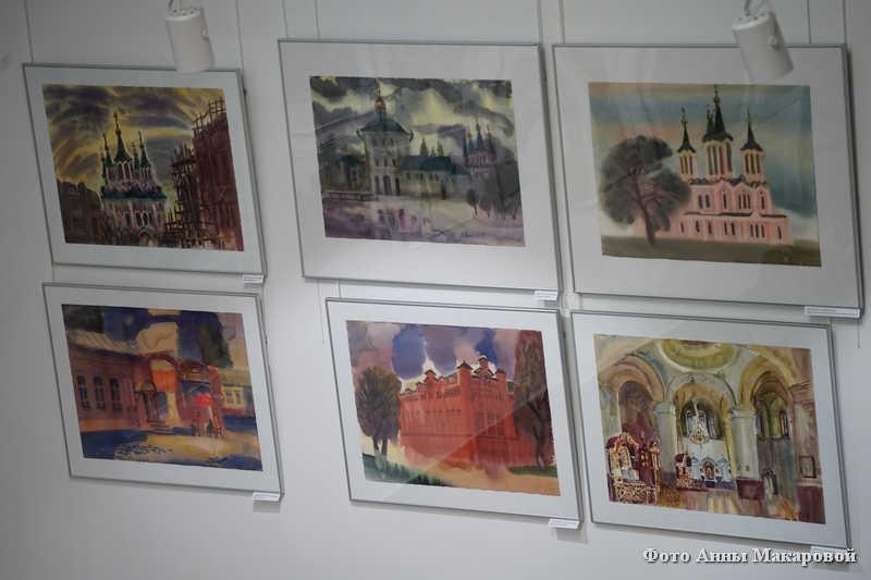 Закрытие фестиваля акварели в Кургане.