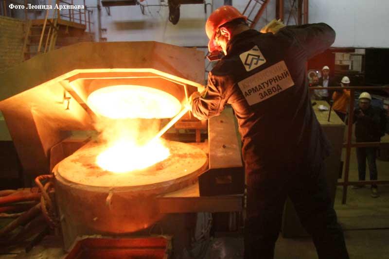Открытие арматурного завода в Кургане.