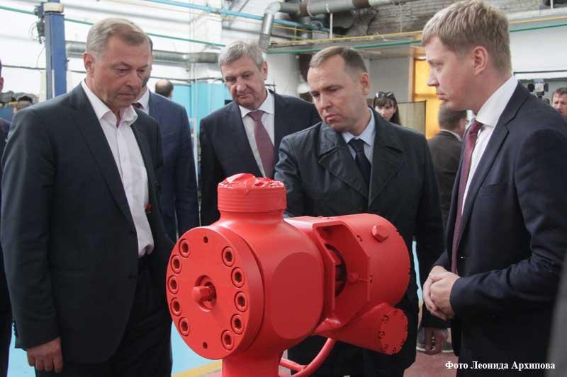 На Курганском арматурном заводе открыто литейное производство