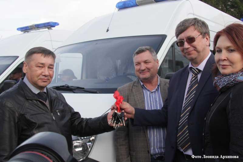 В Курганской области обновили социальный автопарк