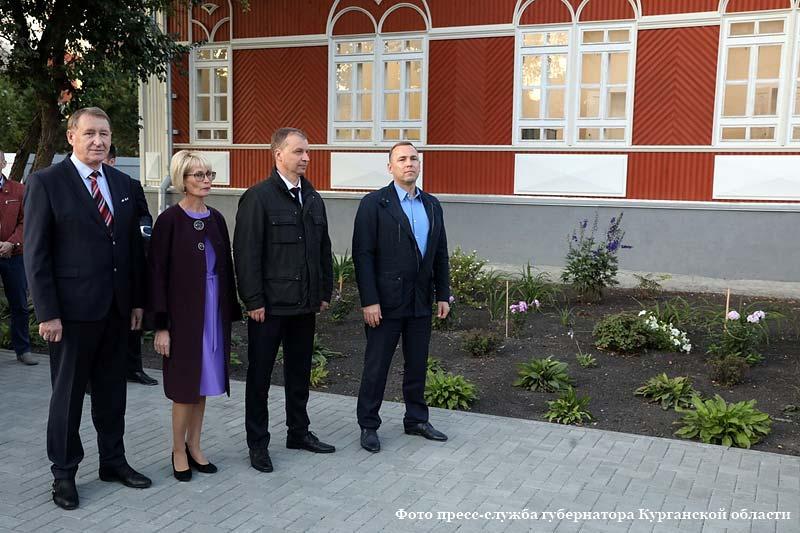 Торжественное открытие Дома Розена после капитального ремонта.