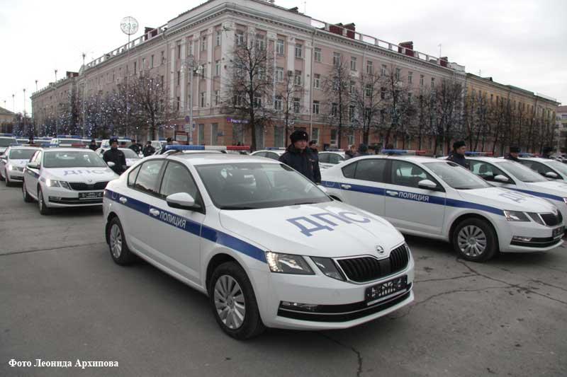 Новый служебный транспорт зауральской полиции