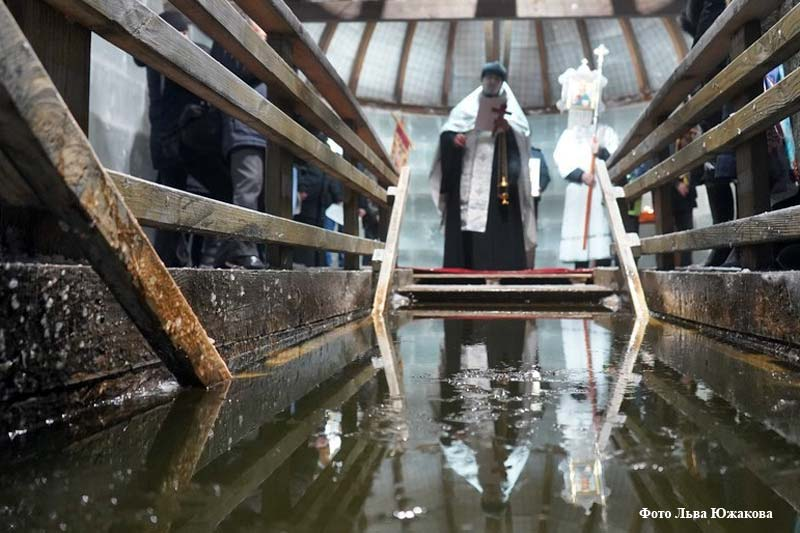 Праздник Крещения в Частоозерье
