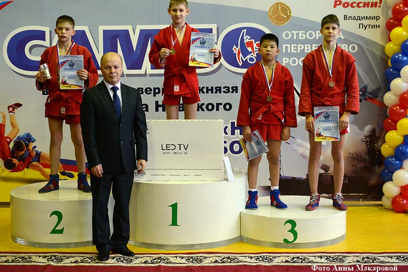 В Кургане прошел VIII Всероссийский турнир по самбо