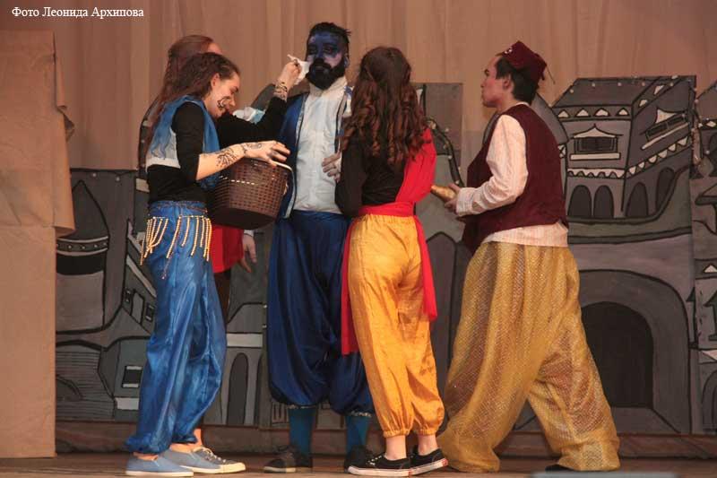 Фестиваль боди-арта в колледже культуры