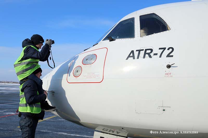 Курганский аэропорт сделал подарок любителям фотографии и авиалайнеров.