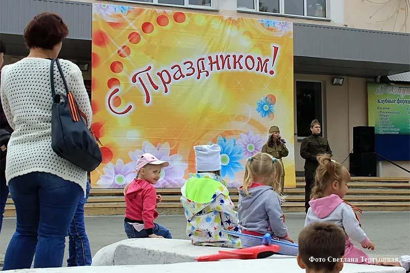 Праздничные выступления в честь Парада Победы