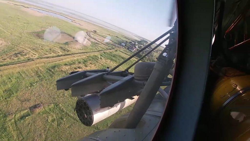 Под Курганом прошли первые учебные ракетные стрельбы вертолетчиков