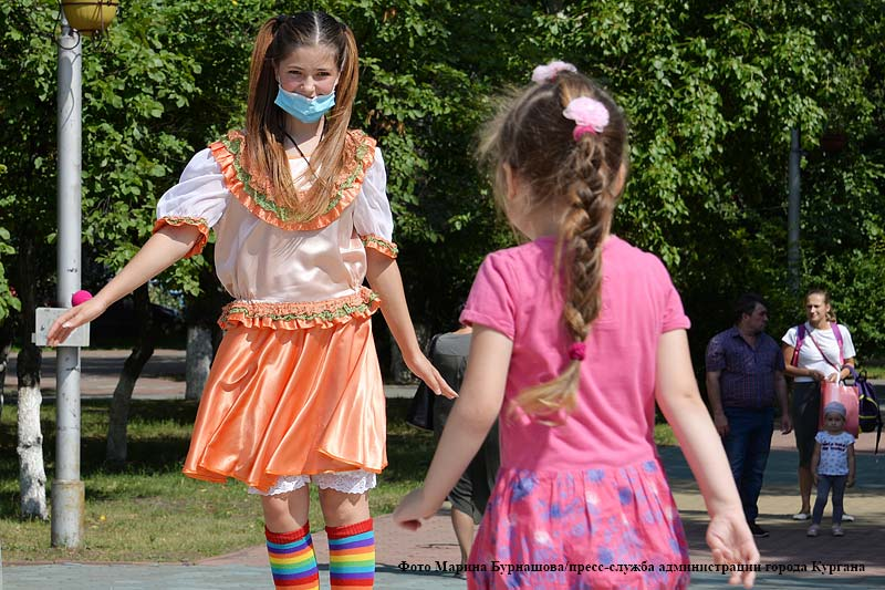 В Детском парке в Кургане прошел День дружбы
