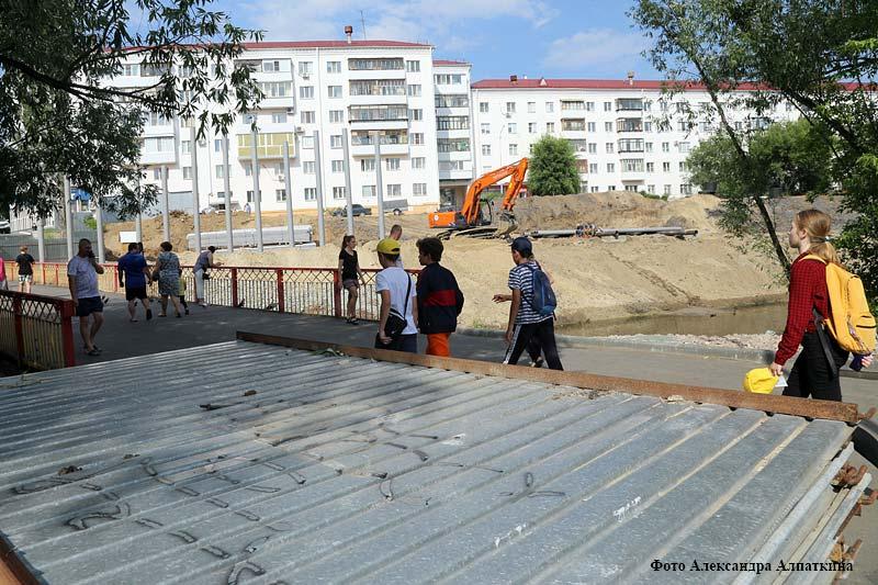 В Кургане идет реконструкция ЦПКиО.