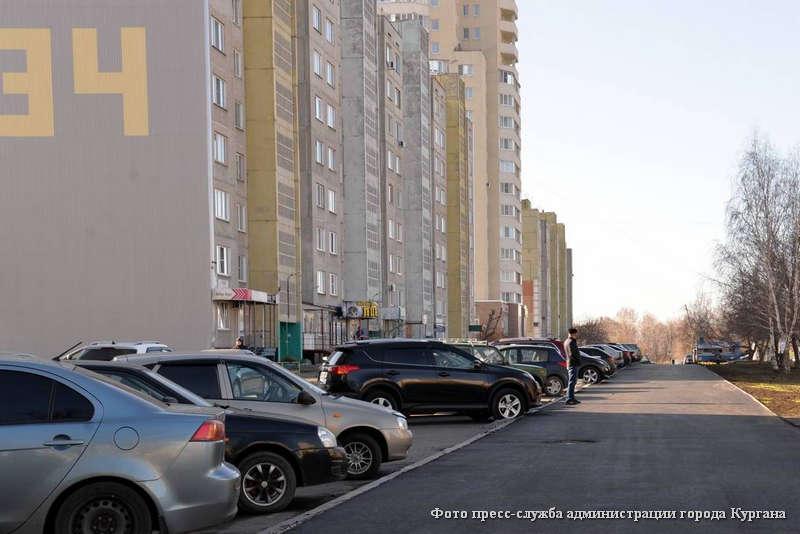 В Заозерном обустраивают новый сквер