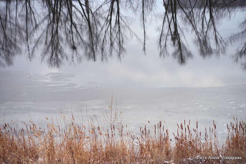 Зима на заречной улице.