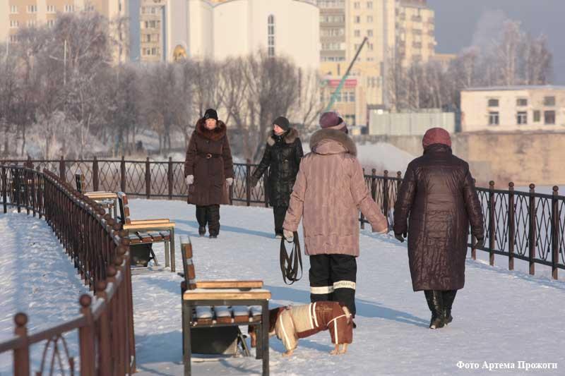 Зимняя набережная