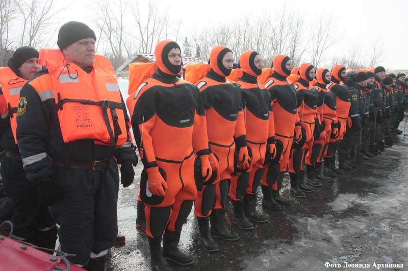 Группировка МЧС подготовилась к паводку и пожарам в Курганской области