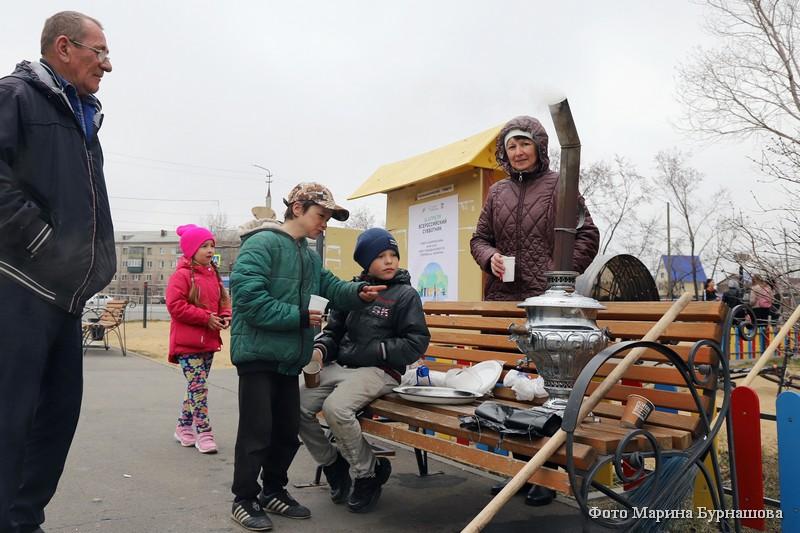 В Кургане прошел Всероссийский субботник.