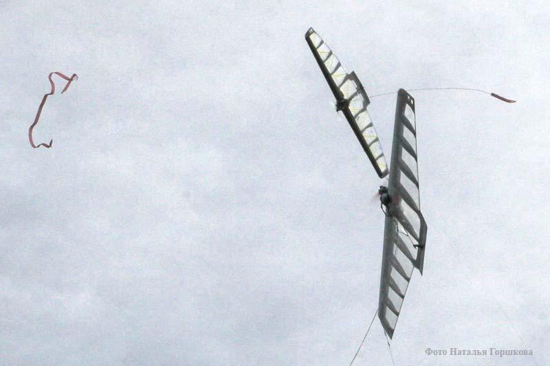 Этап Кубка России по авиамодельному спорту. Класс F-2D.