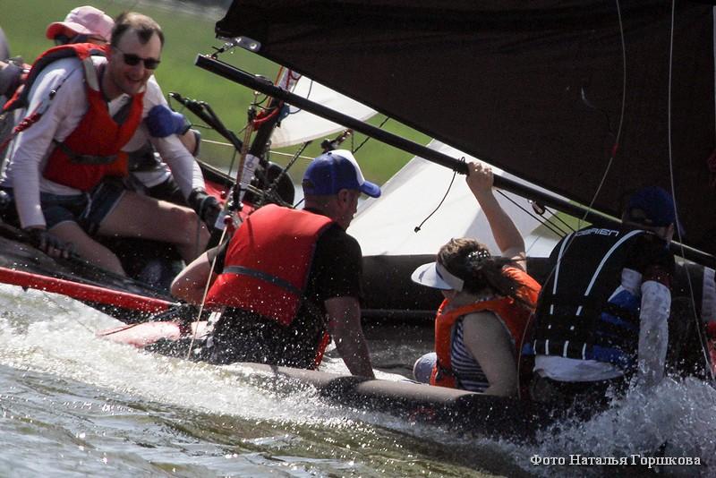 На озере Андреевское на базе загородного яхт-клуба «Адмирал» в Тюменской области впервые состоялся Фестиваль парусного спорта ВОИ Уральского Федерального округа.