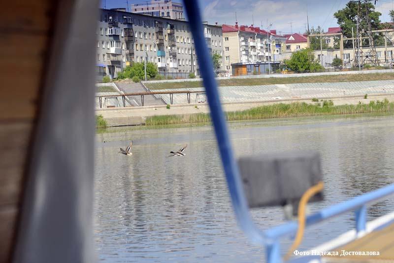 В Кургане открылся речной порт «Маяк»