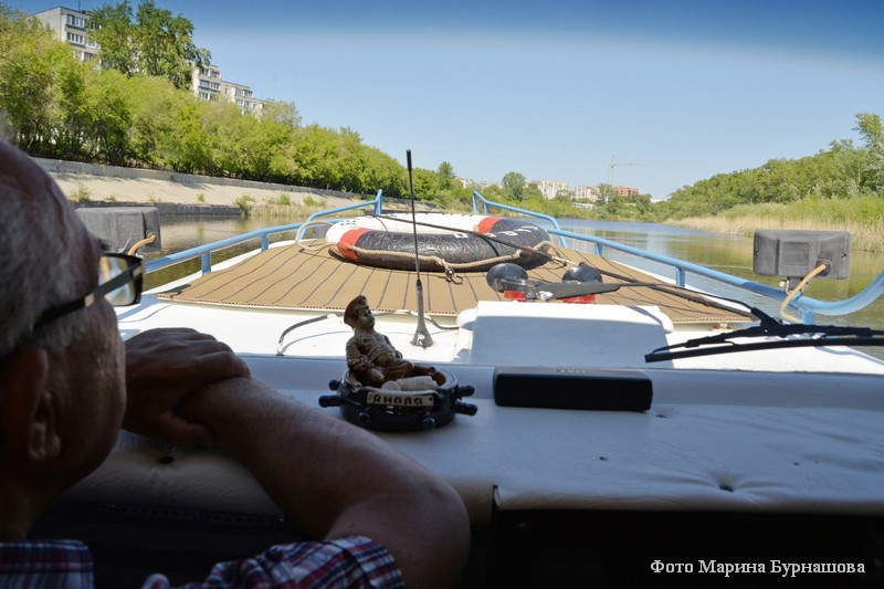 В Кургане открылся речной порт