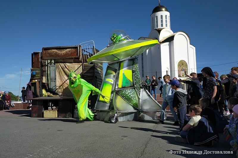 Новый спектакль «Made in Ural» от театра кукол «Гулливер».