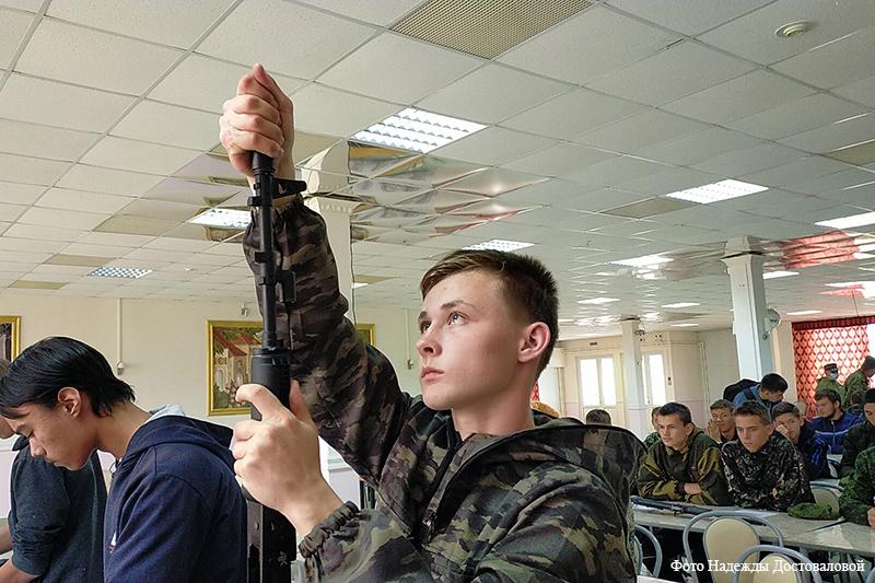 Военно-полевые сборы зауральских школьников