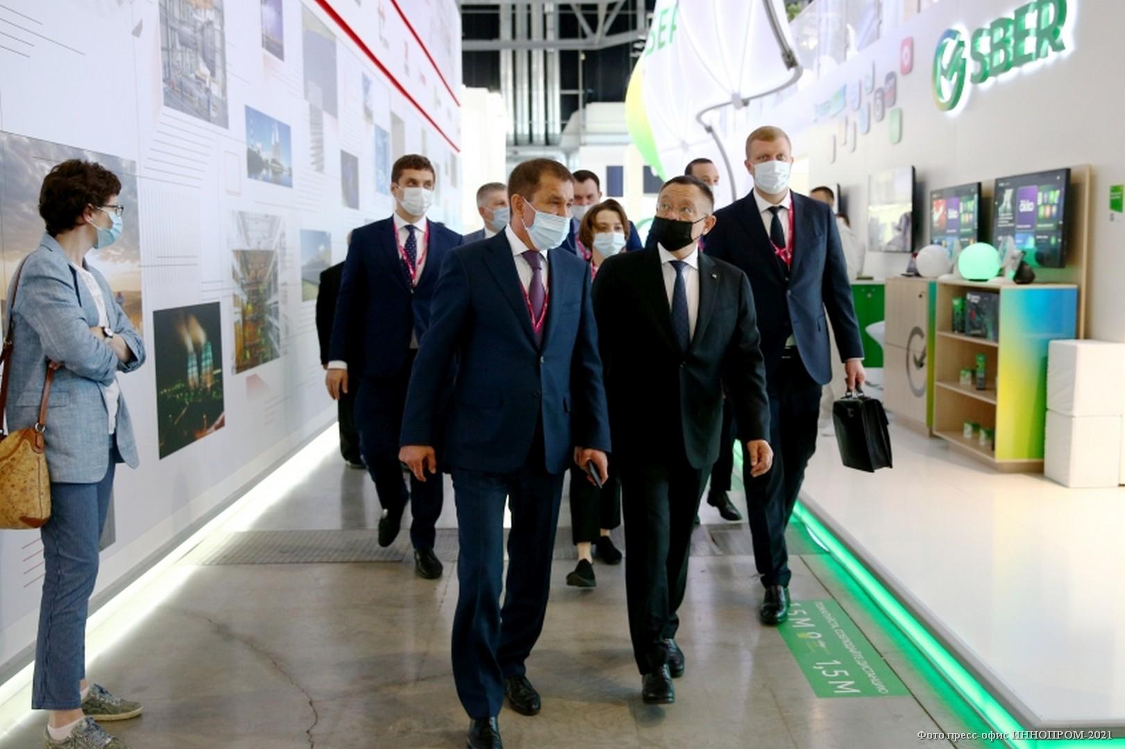 XI Международная промышленная выставка «Иннопром 2021»