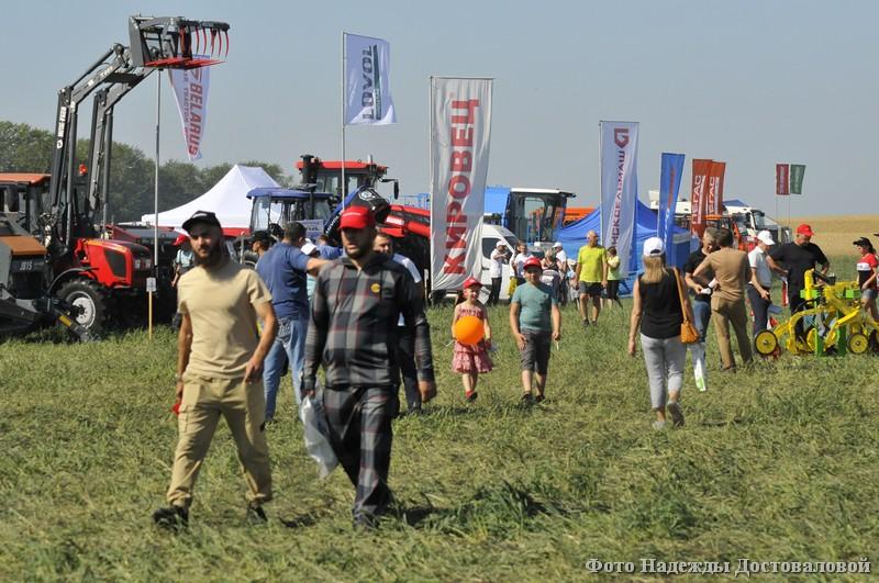 В регионе прошла выставка «День уральского поля»